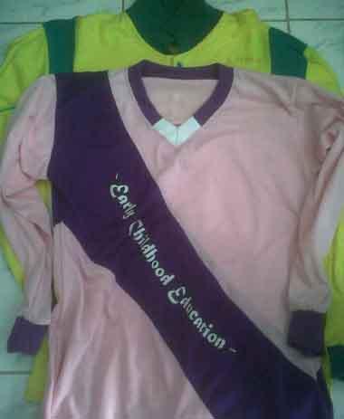 Setelan Baju Olahraga Kaos Training Desain